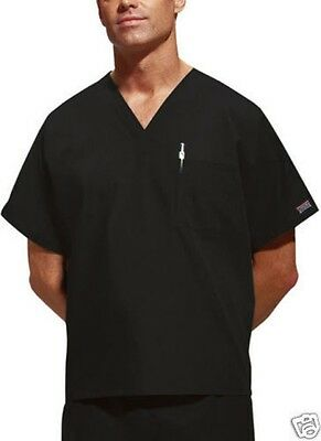 Cherokee scrubs unisex Cargo scrub set BLACK Mens xs-3xl Work Wear choose sizes