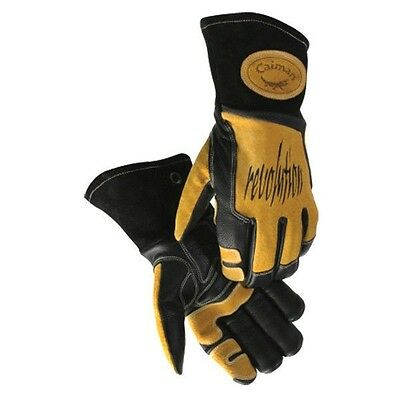 Primax Top Grain Leather Caiman Large Mig/Tig Welding Glove Flexible NEW 1832