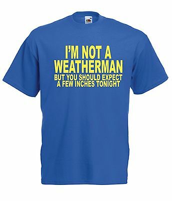 FUNNY WEATHERMAN gift present NEW xmas birthday gift ideas mens womens T SHIRT