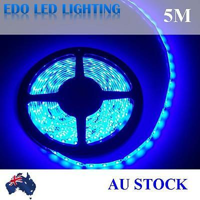 12V Blue 5M 3528 SMD 300 Leds LED Strips Led Strip Lights Waterproof Car Garden