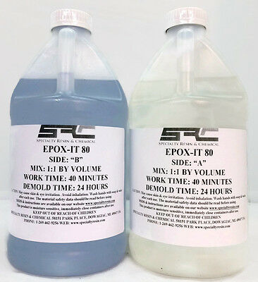 Clear Epoxy Resin for Bar Tops, Tabletops and Resin Casting (1 gallon)