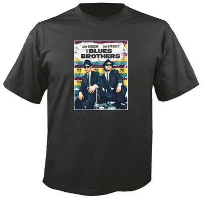 Tee Shirt New Unisex featuring Jake & Elwood THE BLUES BROTHERS cotton t shirt
