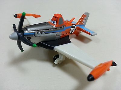 Mattel Disney Pixar Planes No.7 Supercharged Dusty Metal Toy Loose New In Stock