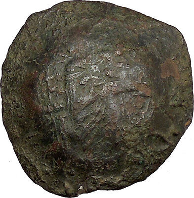 Issac II, Angelus 1185AD Ancient Byzantine Coin Virgin Infant Christ  i38385