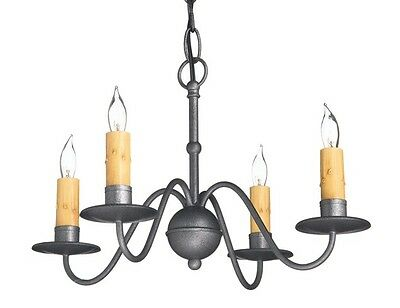 Colonial Primitive Country Lighting Wrought Iron Style Metal