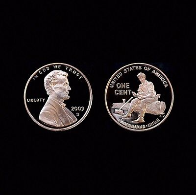 2009 S Lincoln Formative Mint Proof Penny ~ U.S. Coin from Original Proof Set