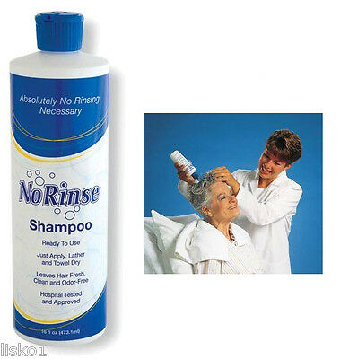 No Rinse SHAMPOO NO WATER NEEDED 1-16 oz.