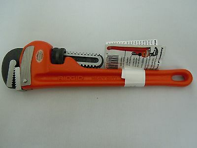 "Ridgid 10"" Pipe Wrench Made In USA"