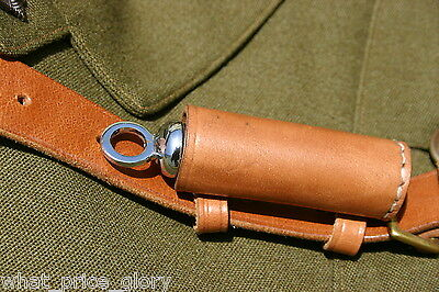 Whistle and Leather Pouch for Sam Browne Belt