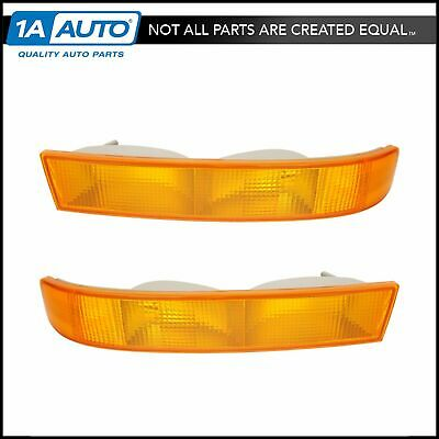 Parking Turn Signal Directional Light Lamp Pair Set for 01-03 Toyota Rav4 Rav 4