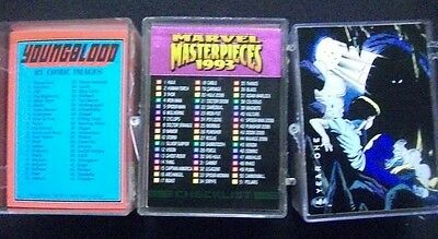 1993 Marvel Masterpieces Youngblood Saga of the Dark Knight Card Set Lot of 3