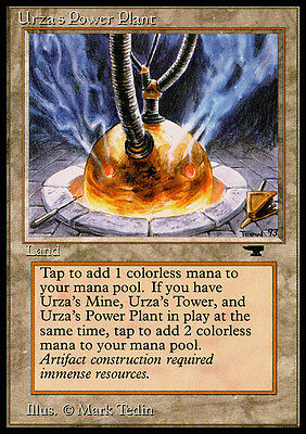 Centrale Energetica di Urza - Urza's Power Plant MAGIC Antiquities Eng SPHERE NM