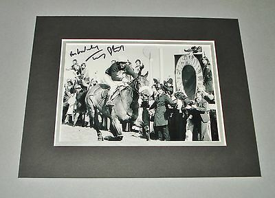 Tommy Stack SIGNED 10x8 Photo Display Authentic AUTOGRAPH Red Rum 1977 + COA