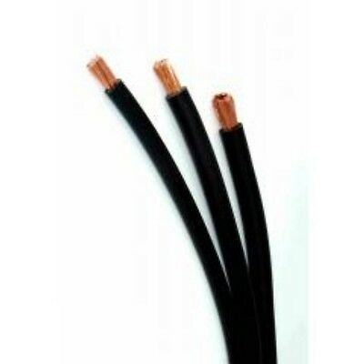 BLACK CABLE 25²mm x 3 METRES, EARTH FOR ARC OR MIG, TIG WELDING OR JUMP LEADS