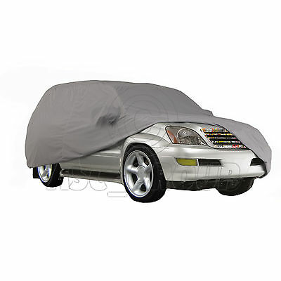 SILVER WATERPROOF CAR COVER TO FIT Suzuki SJ 413 MODELS ONLY