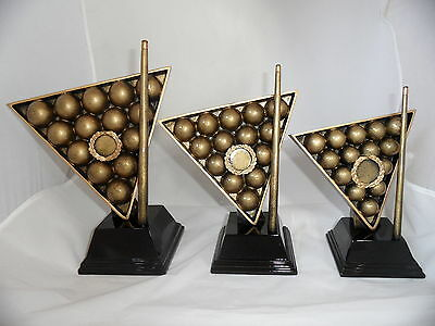 Snooker / Pool Trophy - Available in 3 sizes, engraving included