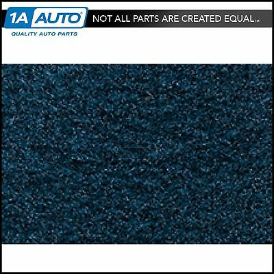 for 1974-76 Ford Bronco with Dual Fuel Tanks Cutpile 7879-Blue Complete Carpet