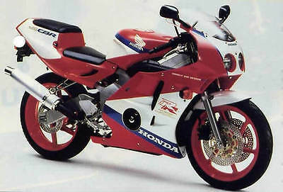 Honda Cbr250R & Cbr250Rr 1987-1996  Workshop Manual On Cd