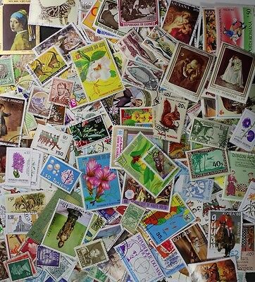 Amazing collection of 100 Worldwide stamps from our hoard of 1000000's