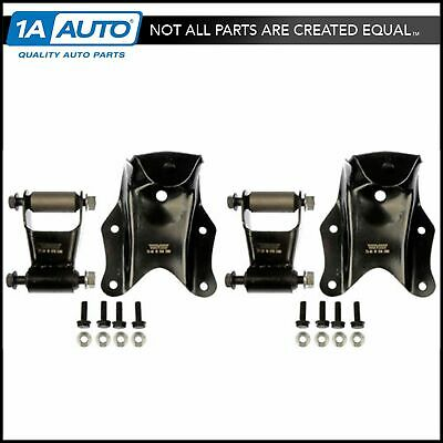 1A Auto Rear Leaf Spring Shackle Bracket Repair Kit Set for 99-04 Ford F150 Pickup Truck
