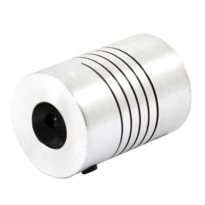 4mmx8mm D18L25 CNC Motor Helical Shaft Coupler Beam Coupling Connect Encoder