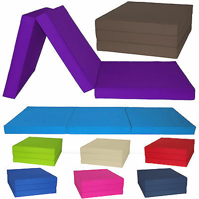 Gilda Fold Out Adult Cube Guest Z Bed Chair Bed Futon Chairbed Stain Resistant