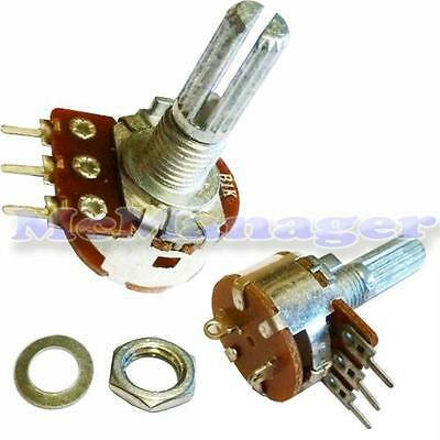 Range of Mono Lin/Linear Log/Logarithmic Mixer/Volume Potentiometers With Switch