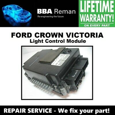 1998 98 FORD CROWN VICTORIA LCM LIGHT CONTROL MODULE LIGHT BOX REPAIR