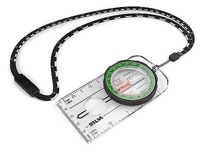 """Silva New and Improved Sweden Ranger Compass Sighting Hiking Camping 36985 """"MS"""""""
