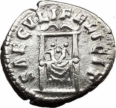 Faustina II Marcus Aurelius wife Silver RARE Ancient Roman Coin Commodus  i38669