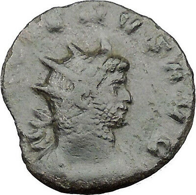 GALLIENUS son of Valerian I  Ancient Roman Coin PAX Peace Goddess Cult  i32211