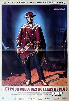 For A Few Dollars More - Leone / Eastwood - Reissue Small French Movie Poster