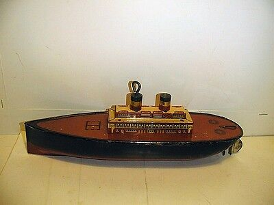 PASSENGER STEAMER WIND-UP GOOD CONDITION