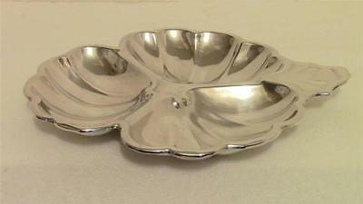 Vintage Antique Sterling Silver Condiment Tray Bowl Heavy 124 Grams Frank Smith!