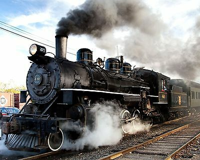 Steam Train 8 x 10 / 8x10 GLOSSY Photo Picture IMAGE #8