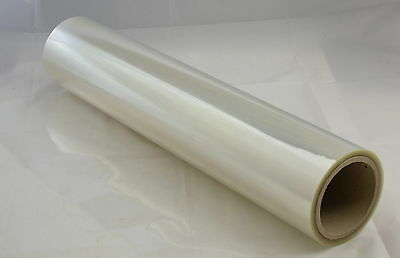 HEAVY DUTY POLYESTER HARDBACK BOOK COVERING PROTECTION 50M x 500MM (100 mic)