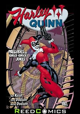 HARLEY QUINN PRELUDES and KNOCK KNOCK JOKES GRAPHIC NOVEL Collects (2000) #1-7