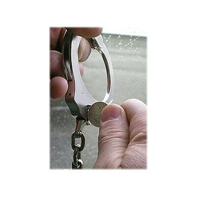 Covert Coin Hidden Flip Out Nickel Universal Handcuff Key for Standard Cuffs