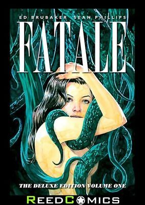 FATALE DELUXE EDITION VOLUME 1 HARDCOVER New Hardback Ed Brubaker Collects #1-10