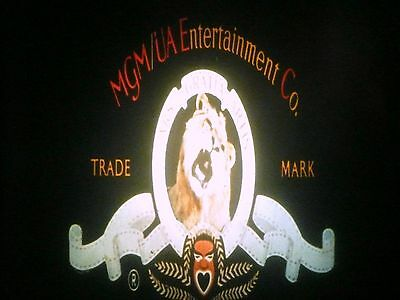 35MM - COMPANY LOGO for FEATURE FILMS  - MGM - sound: Leo ROARS !!!!!! - 7 sec