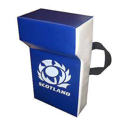 Scotland Rugby Union Professional Grade Personalised Tackle Wedge Hit Shield