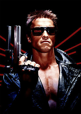The Terminator V2 - A1/A2 Poster **BUY ANY 2 AND GET 1 FREE OFFER**