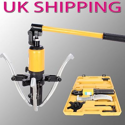 10 Ton Hydraulic Bearing Gear Puller Sets Separator Hub Kit 3 Jaws Garage Tool