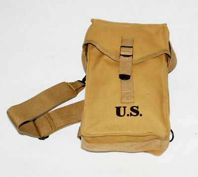 Wwii Us Amry General Purpose Ammo Bag With Strap -3947