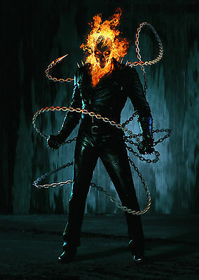 Ghost Rider - A1/A2 Poster **BUY ANY 2 AND GET 1 FREE OFFER**