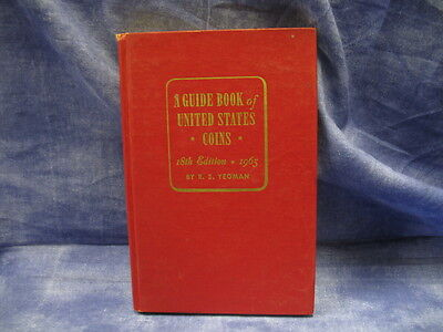 Used A Guide Book of United States Coins - 18th Edition - 1965