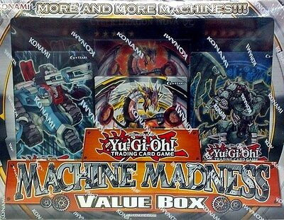 Yugioh Machine Madness Value Box BRAND NEW SEALED!!