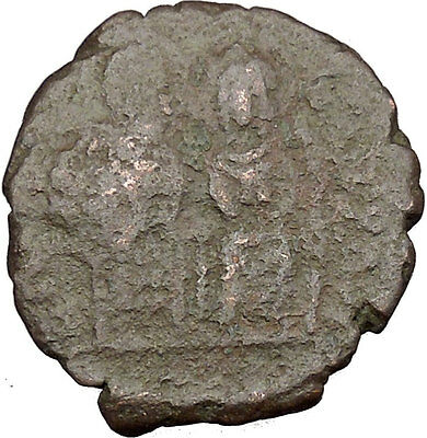 Justin II & Queen Sophia 565AD  Ancient Medieval Byzantine Coin Large K  i38914
