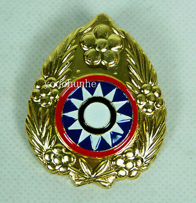 Ww2 China Kmt Kuomingtang Army Type 46 Field Cap Insignia Badge -32015