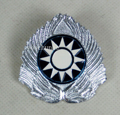Ww2 China Kmt Kuomingtang Army Type 46 Field Cap Insignia Badge -32017